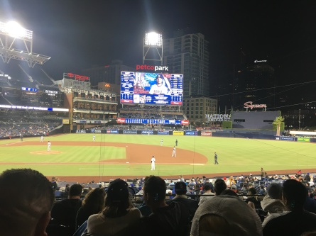 Los Angeles Dodgers VS San Diego Padres, April 18th 2018