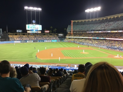 Oakland A's VS Los Angeles Dodgers, April 11th 2018