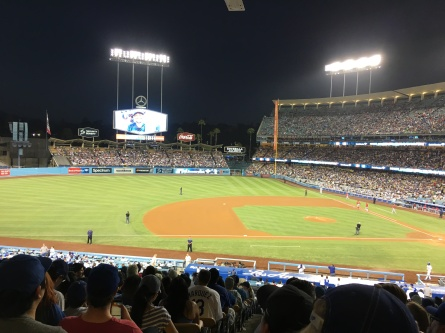 """Los Angeles"" Angels of Anaheim VS Los Angeles Dodgers June 27th 2017"