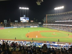 San Francisco Giants VS Los Angeles Dodgers, August 13th 2018