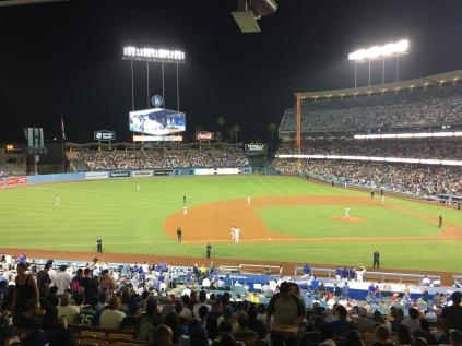 San Francisco Giants VS Los Angeles Dodgers, August 13th 2018