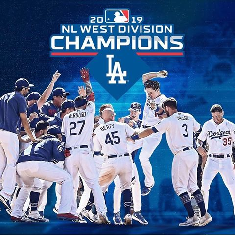 Image result for dodgers national league west 2019